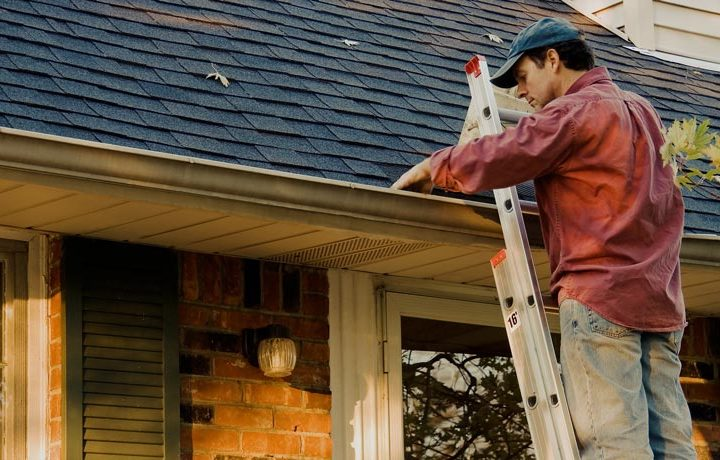 Prepared to have your rain gutters cleaned up? Work with a professional!